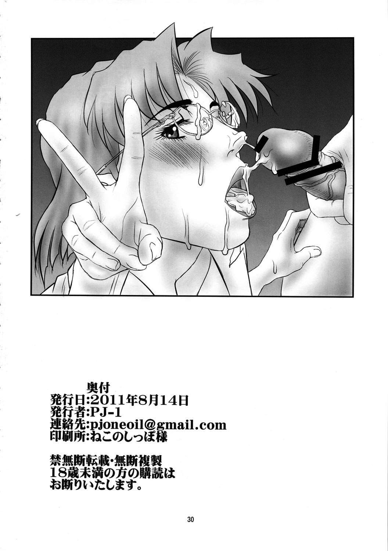 Misato to Ritsuko Monzetsu Misoji Yuugi 28