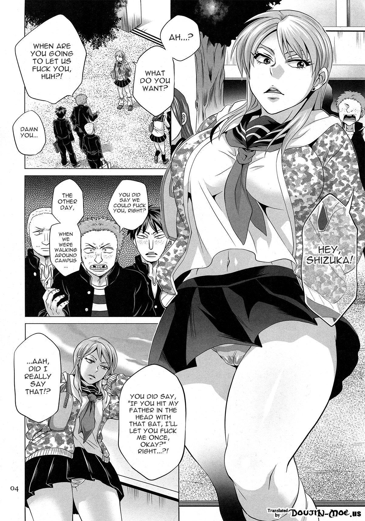 (C82) [Temparing (Tokimachi Eisei)] Seisai Shiteyaru! -REVENGE- | Give Punishment! -Revenge- (Saikyou Densetsu Kurosawa) [English] {doujin-moe.us} 2