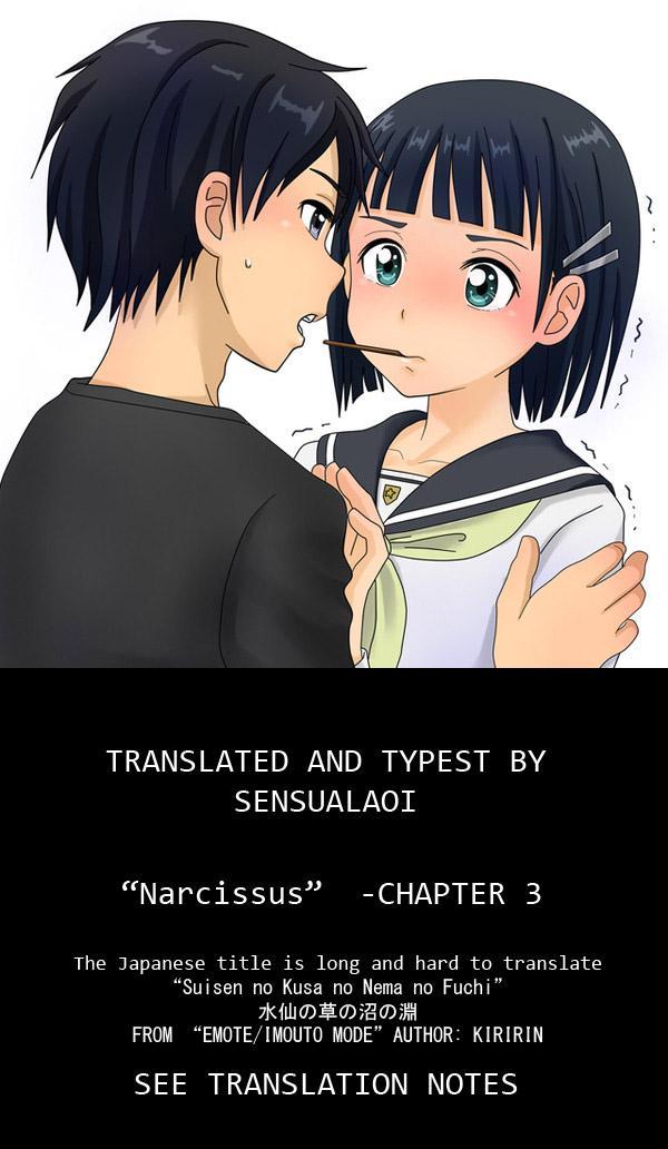 [kiR-Rin] Narcissus Chapter 3 (English) - a.k.a. Imouto / Emote Mode : Suisen no Hana no Numa no Fuchi (sensualaoi) 27