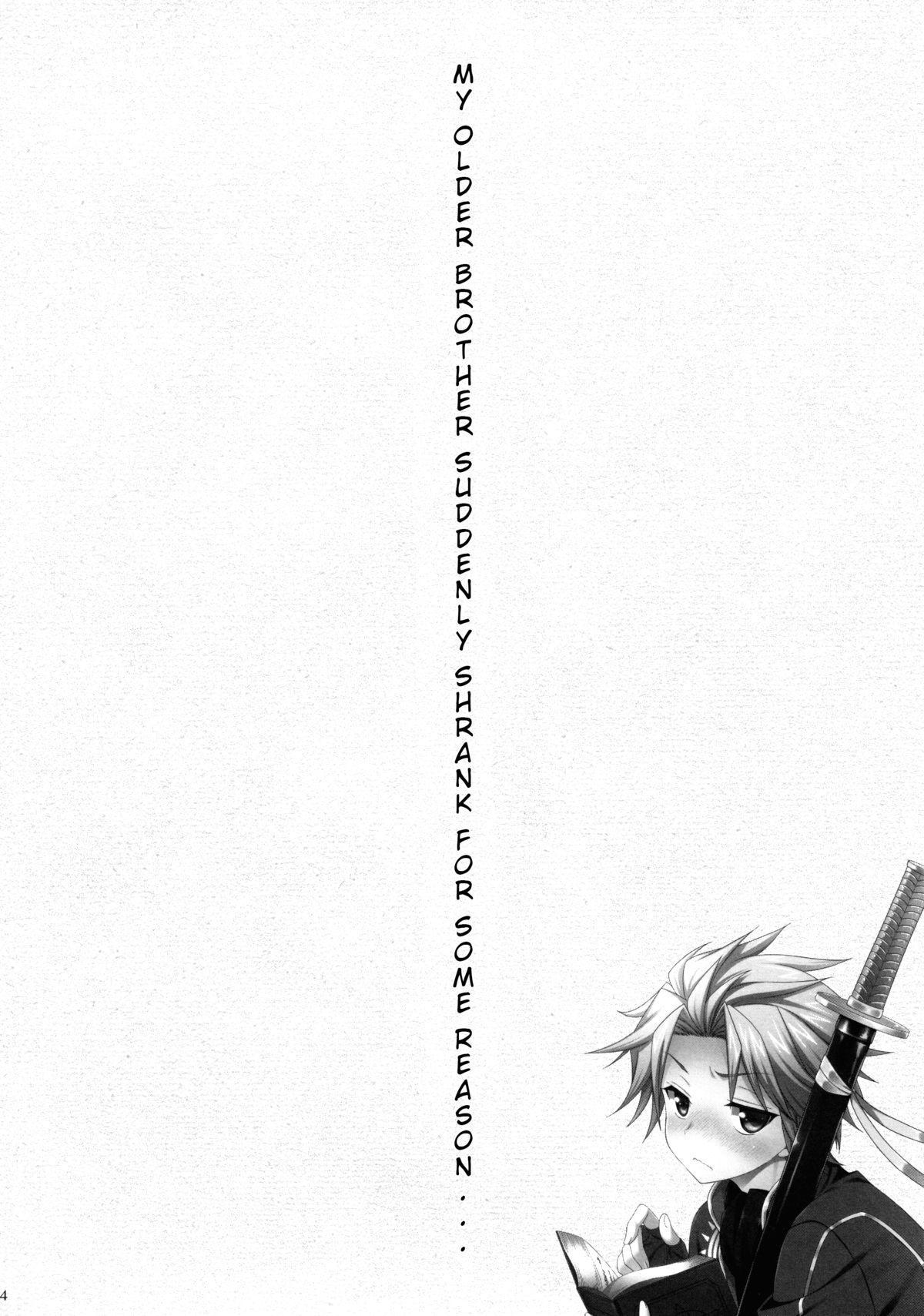 Ore no Aniki ga Naze daka Totsuzen Chicchaku Natte Shimattan daga. | My Older Brother Suddenly Shrank for Some Reason 2