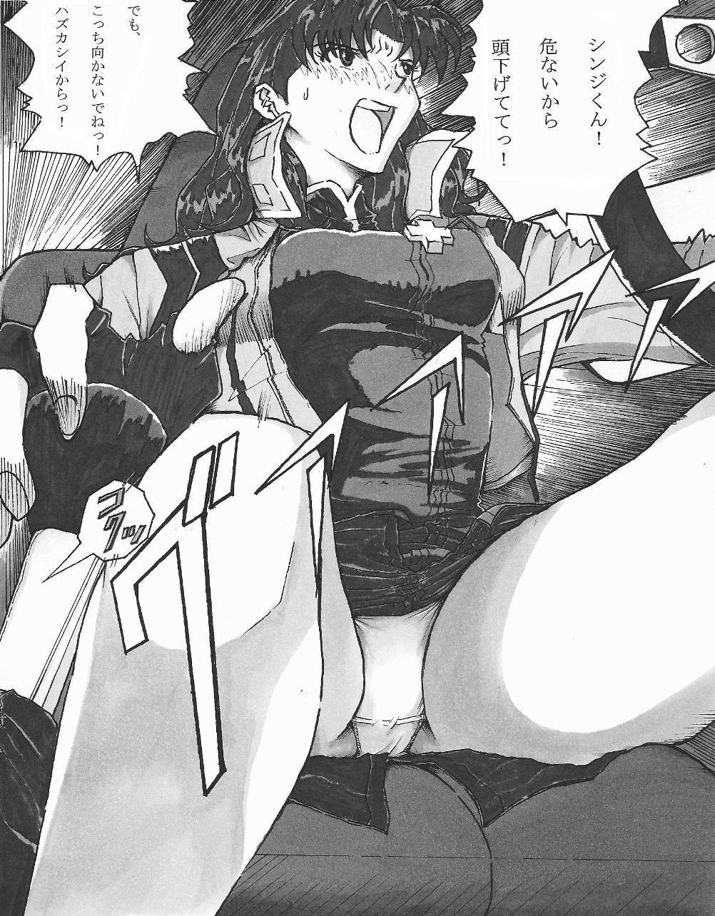 Be Avenged on Misato Katsuragi 1