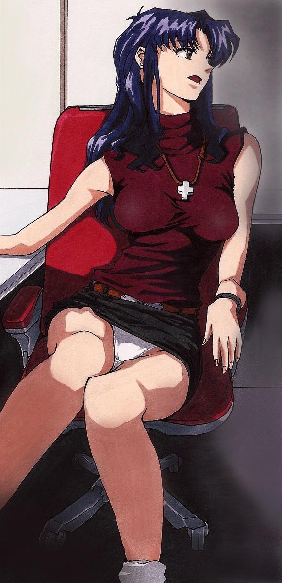Be Avenged on Misato Katsuragi 24