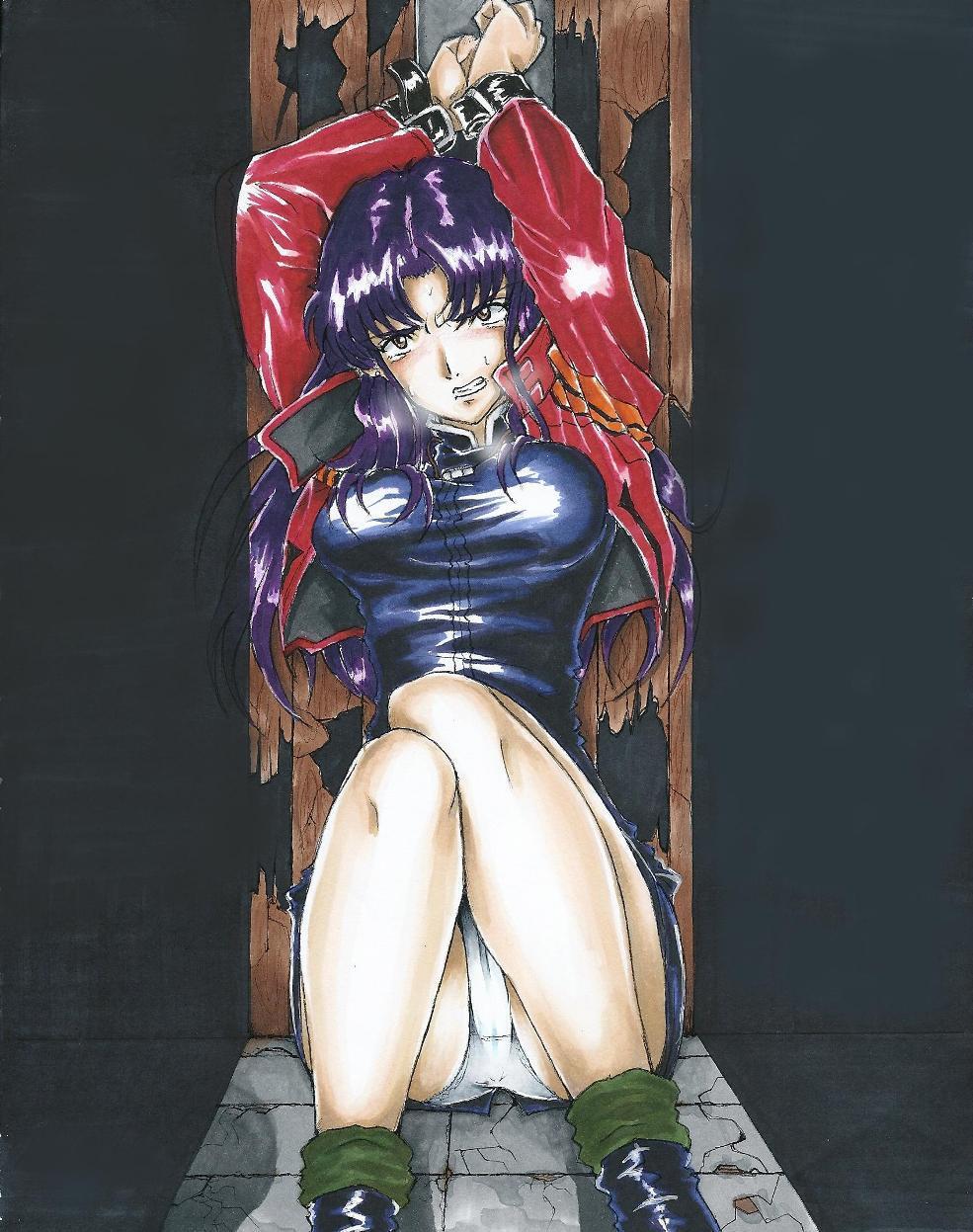 Be Avenged on Misato Katsuragi 28