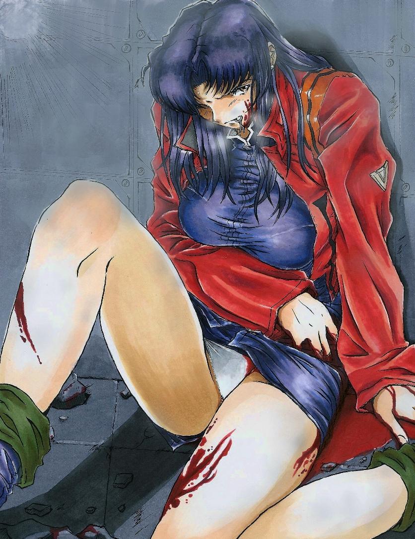 Be Avenged on Misato Katsuragi 29