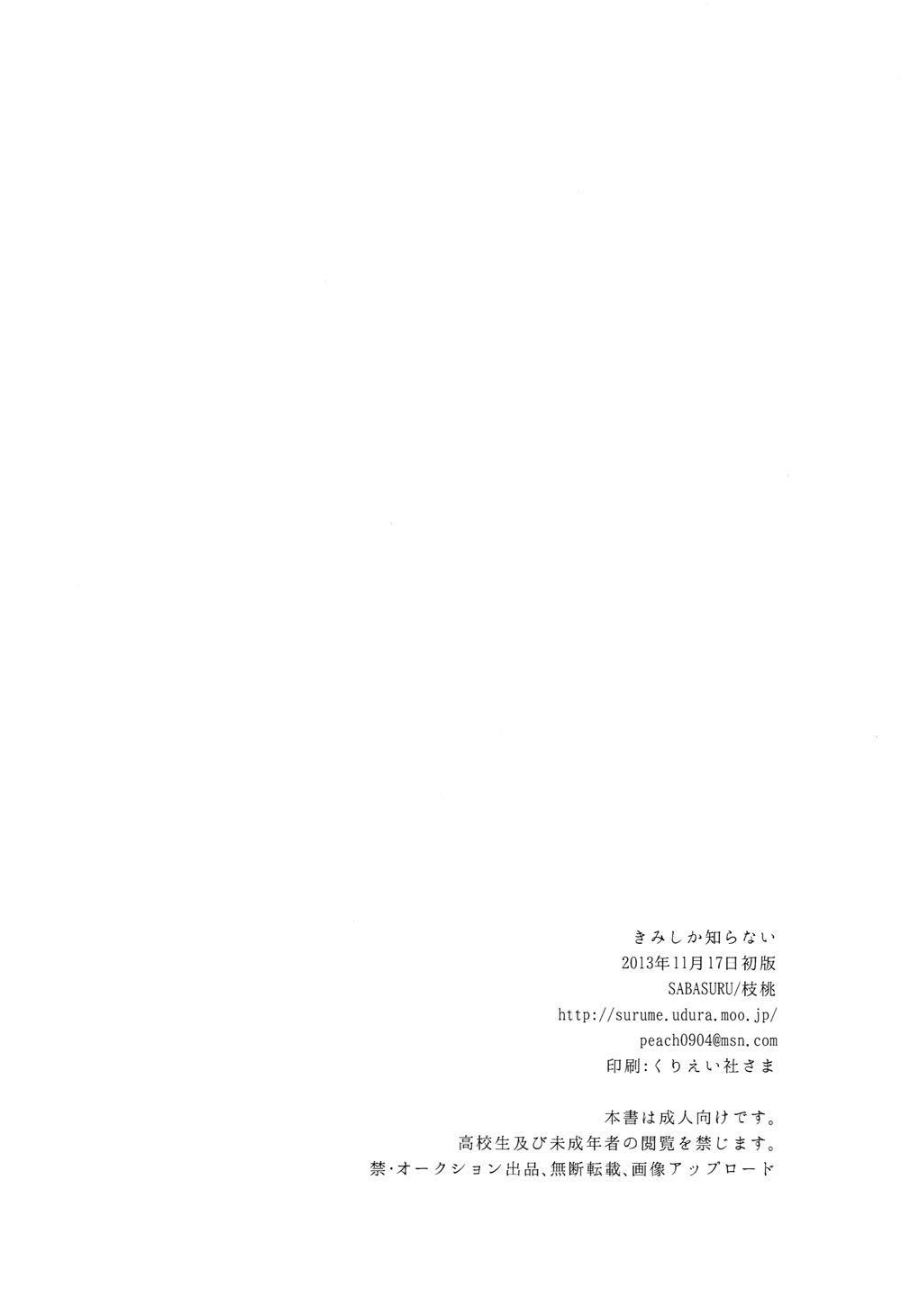 Kimi shika Shiranai | Only You Know 20