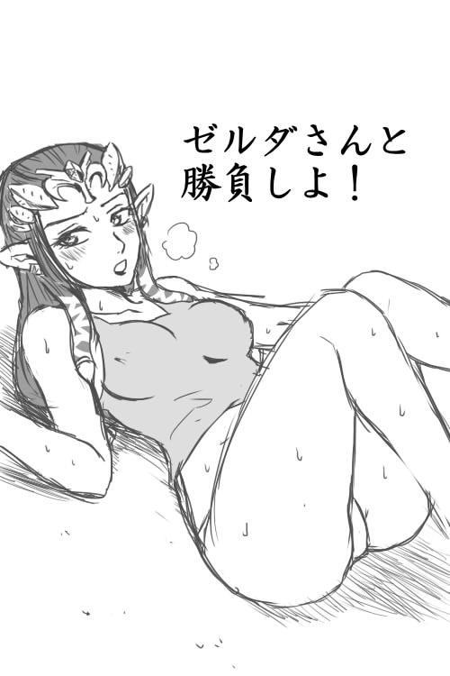 Zelda-san to Shoubu Shiyo! 0