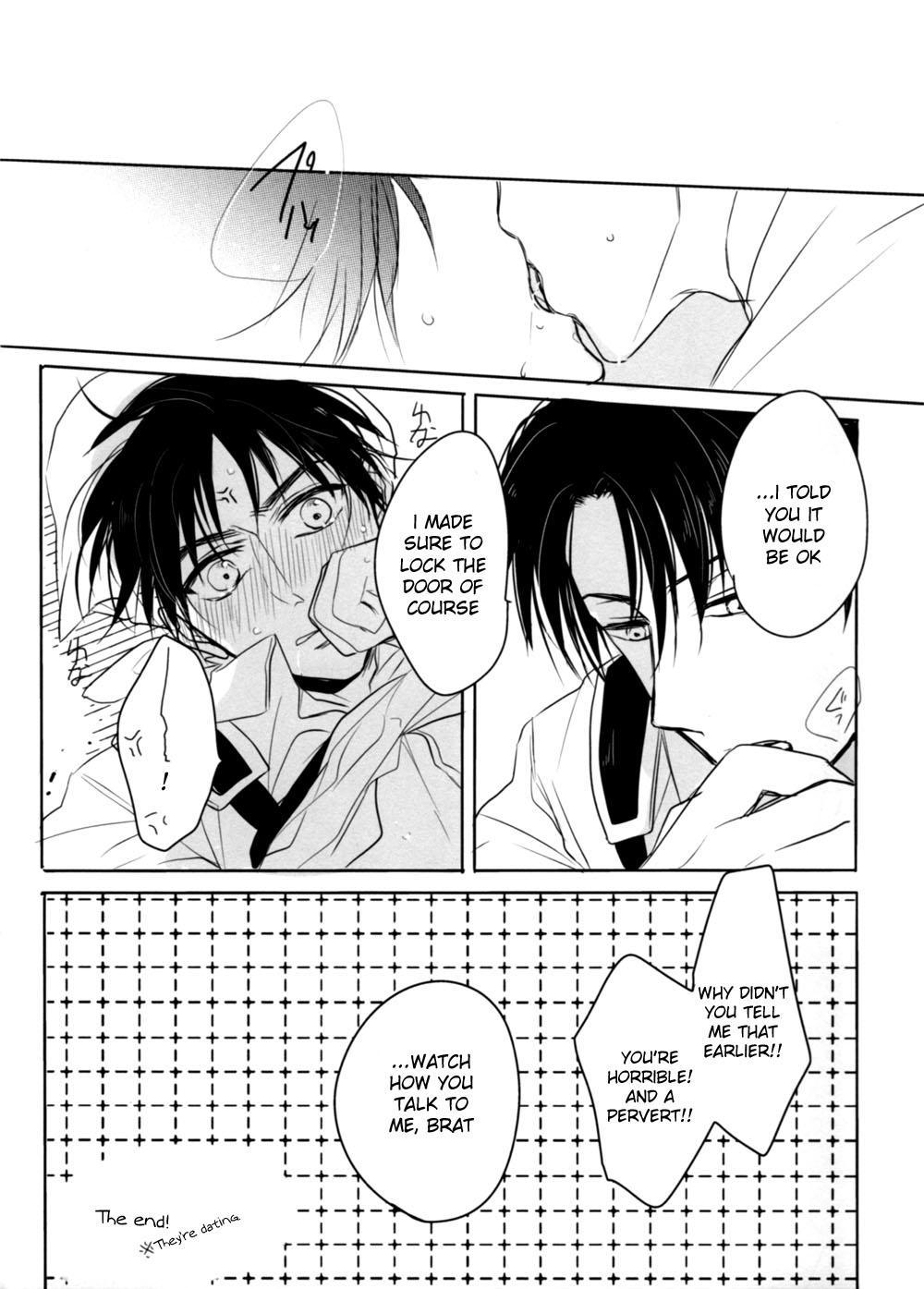 [Dictionary] O-souji Eren-kun to Levi-san (Shingeki no Kyojin) [English] (Moy Moe Scanlations) 12