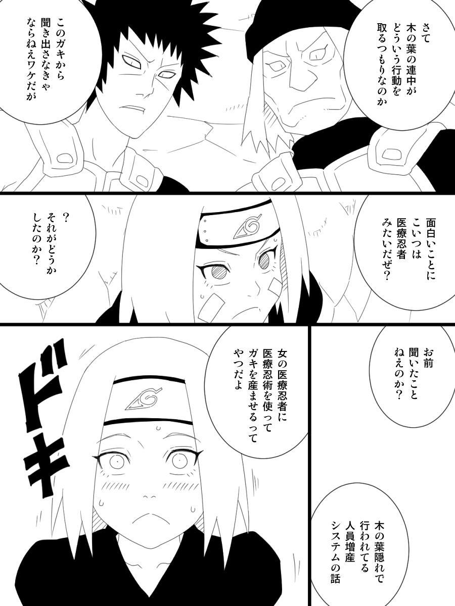 Rin hentai naruto Rin Nohara