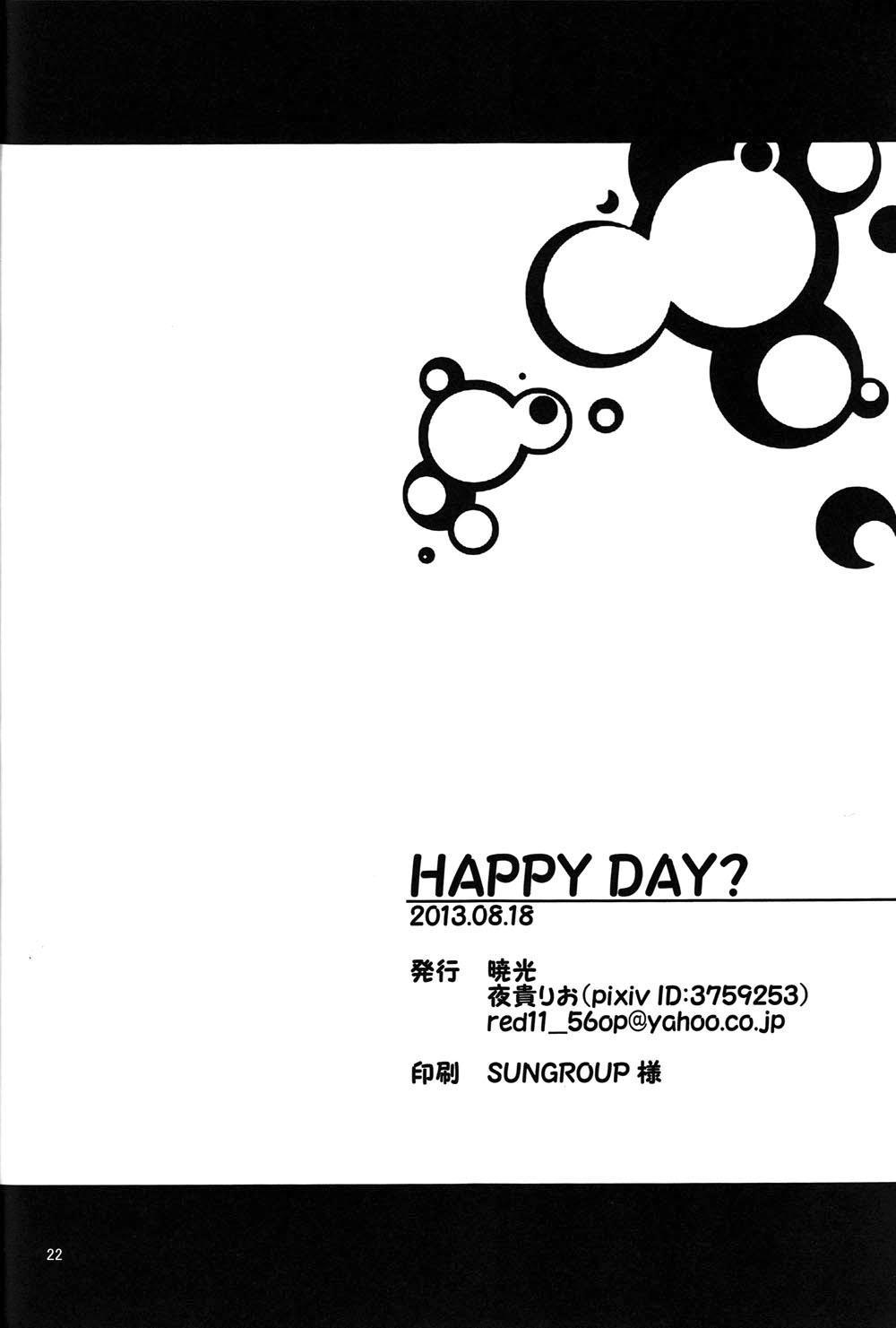 HAPPY DAY? 20