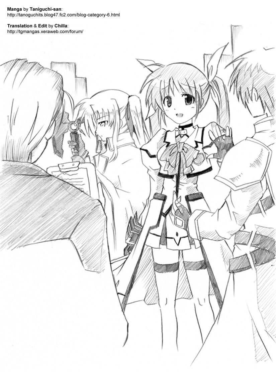 """Nanoha Nijisousaku """"Konton, Kidourokka"""" Dai Ichi-wa 0"""
