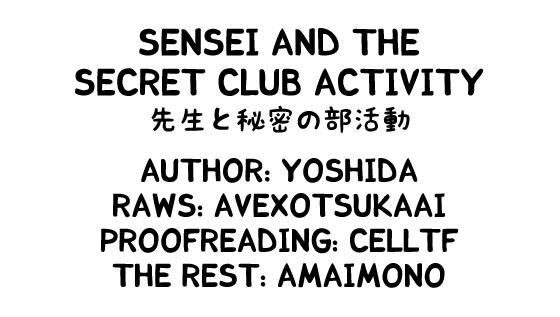 Sensei to Himitsu no Bu Katsudou | Sensei And The Secret Club Activity 18