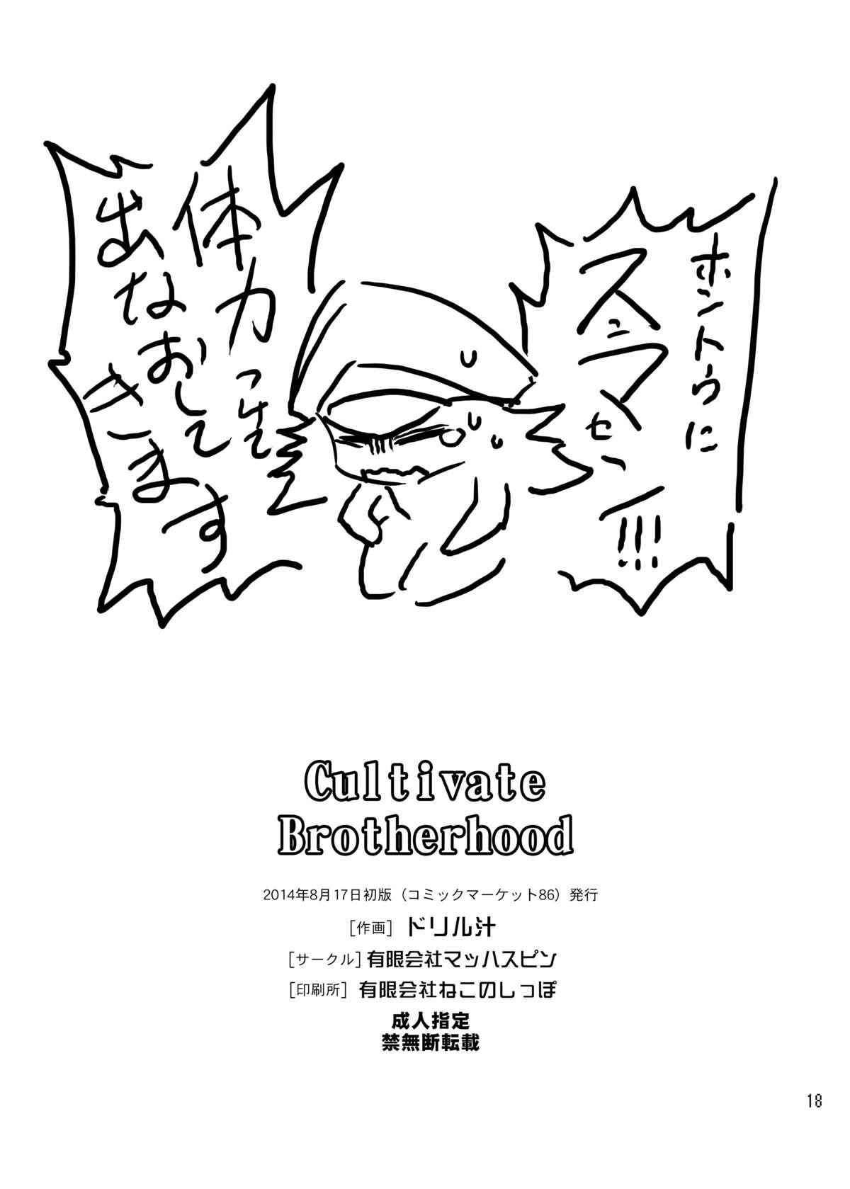 Cultivate Brotherhood 14
