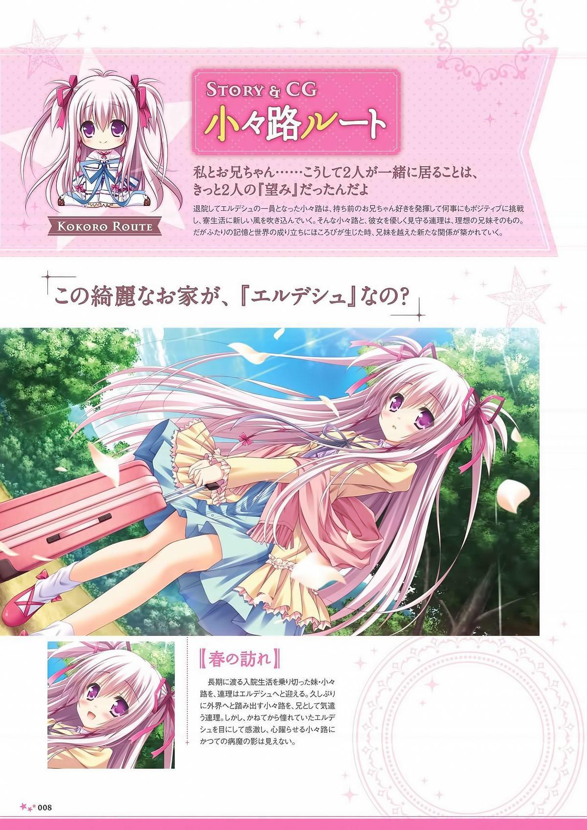 Sekai to Sekai no Mannaka de Visual Fanbook 9
