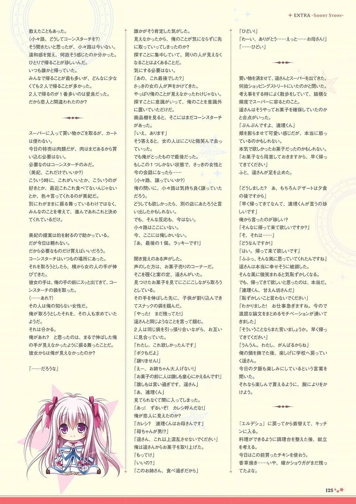 Sekai to Sekai no Mannaka de Visual Fanbook 122