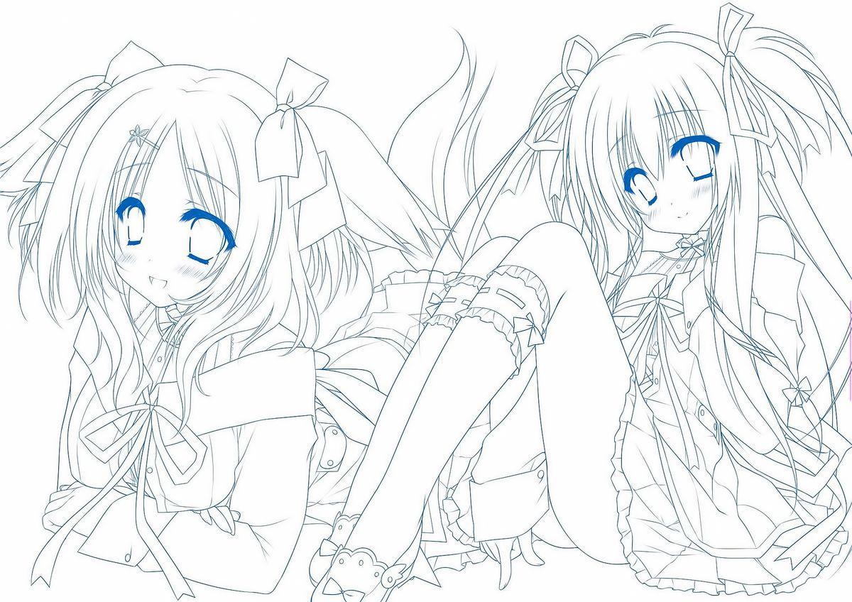 Sekai to Sekai no Mannaka de Visual Fanbook 127