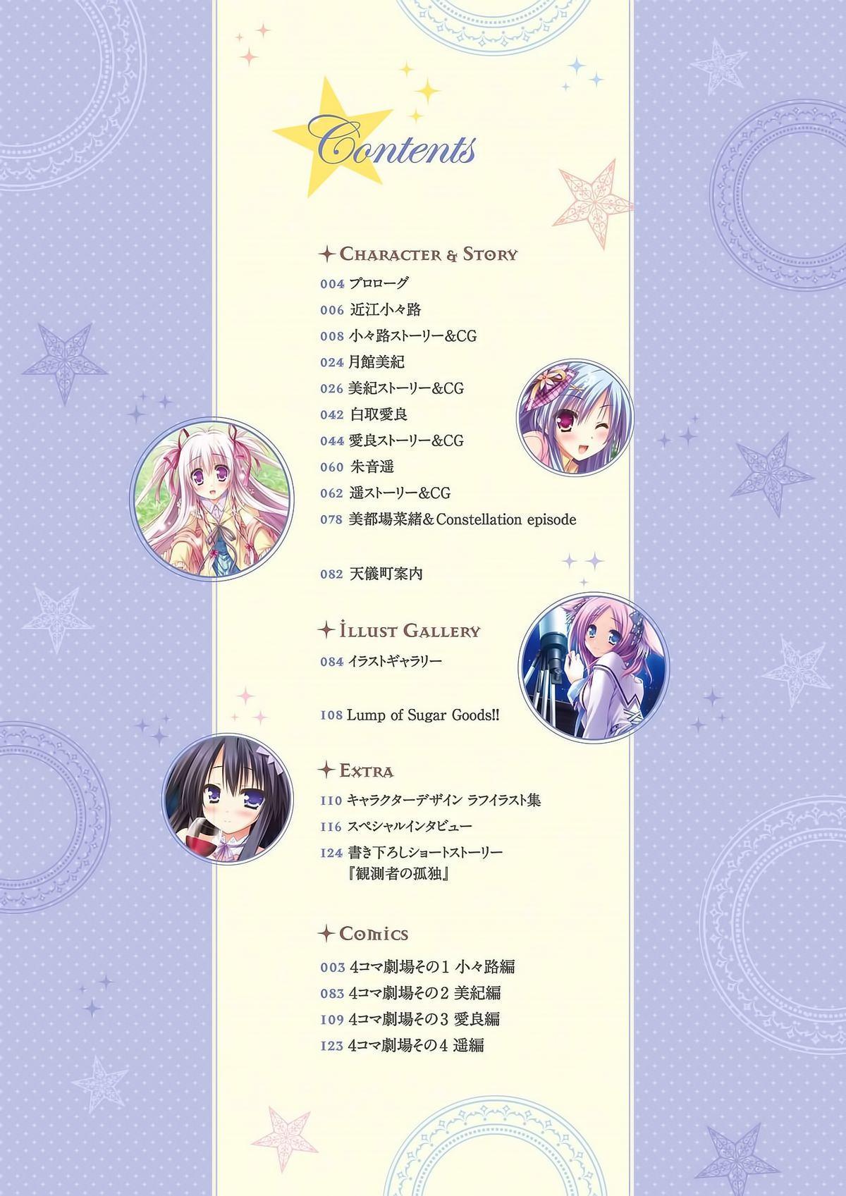 Sekai to Sekai no Mannaka de Visual Fanbook 3