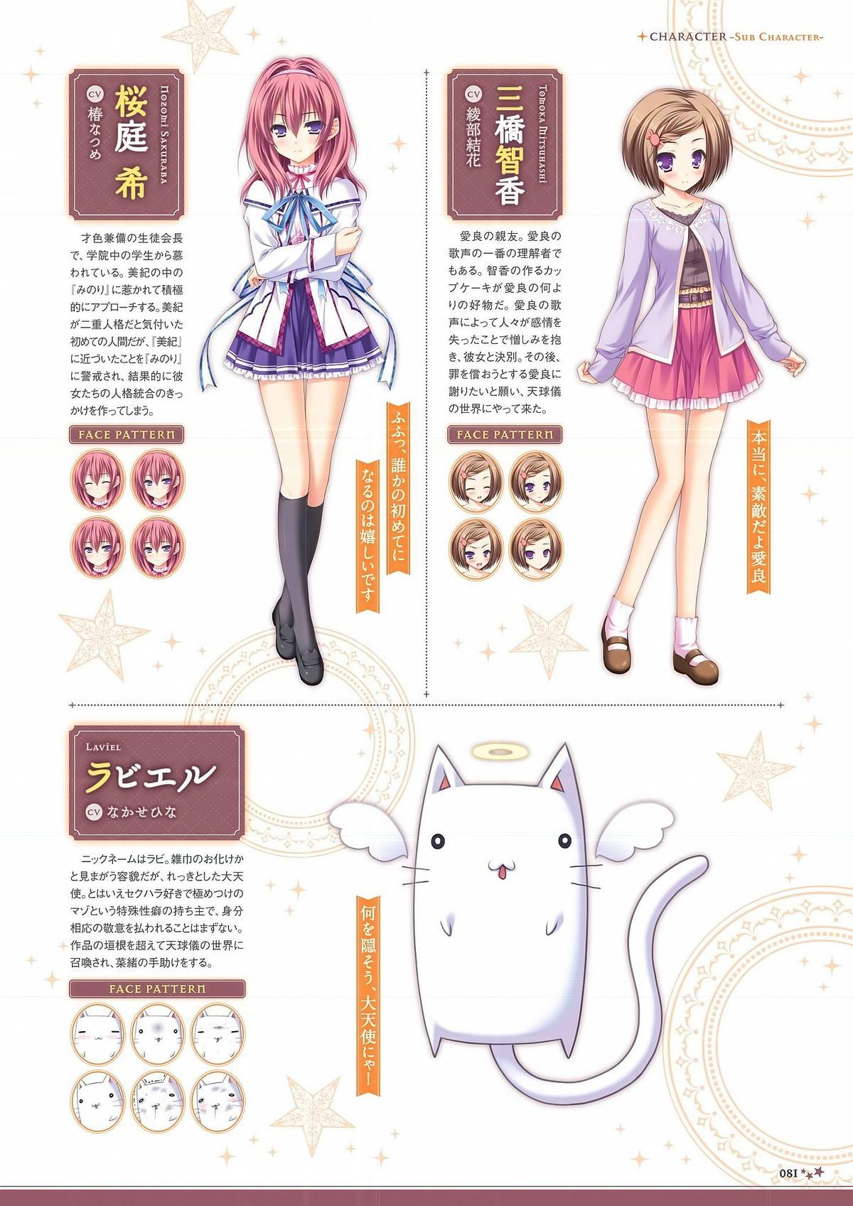 Sekai to Sekai no Mannaka de Visual Fanbook 81