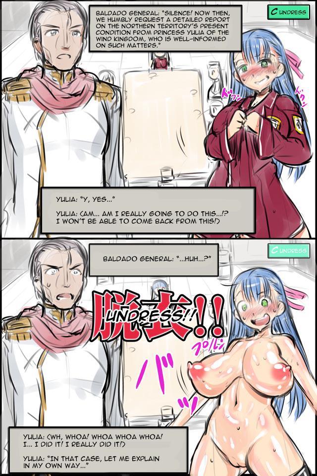 Hakudaku no Himekishi Yuria Rakugaki Matome   Cloudy White Princess Knight Yulia 27
