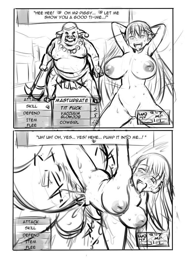 Hakudaku no Himekishi Yuria Rakugaki Matome   Cloudy White Princess Knight Yulia 4