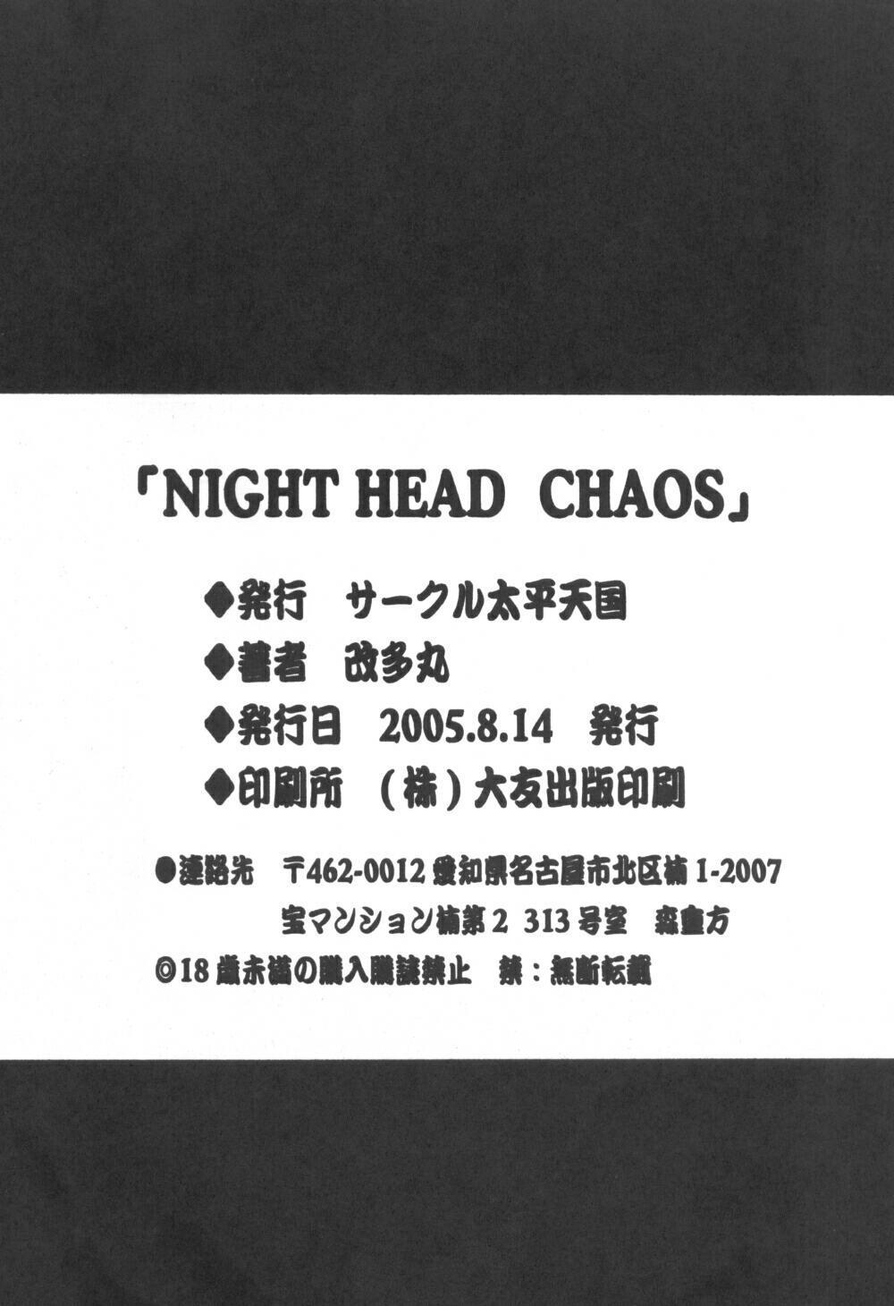 Night Head Chaos 36