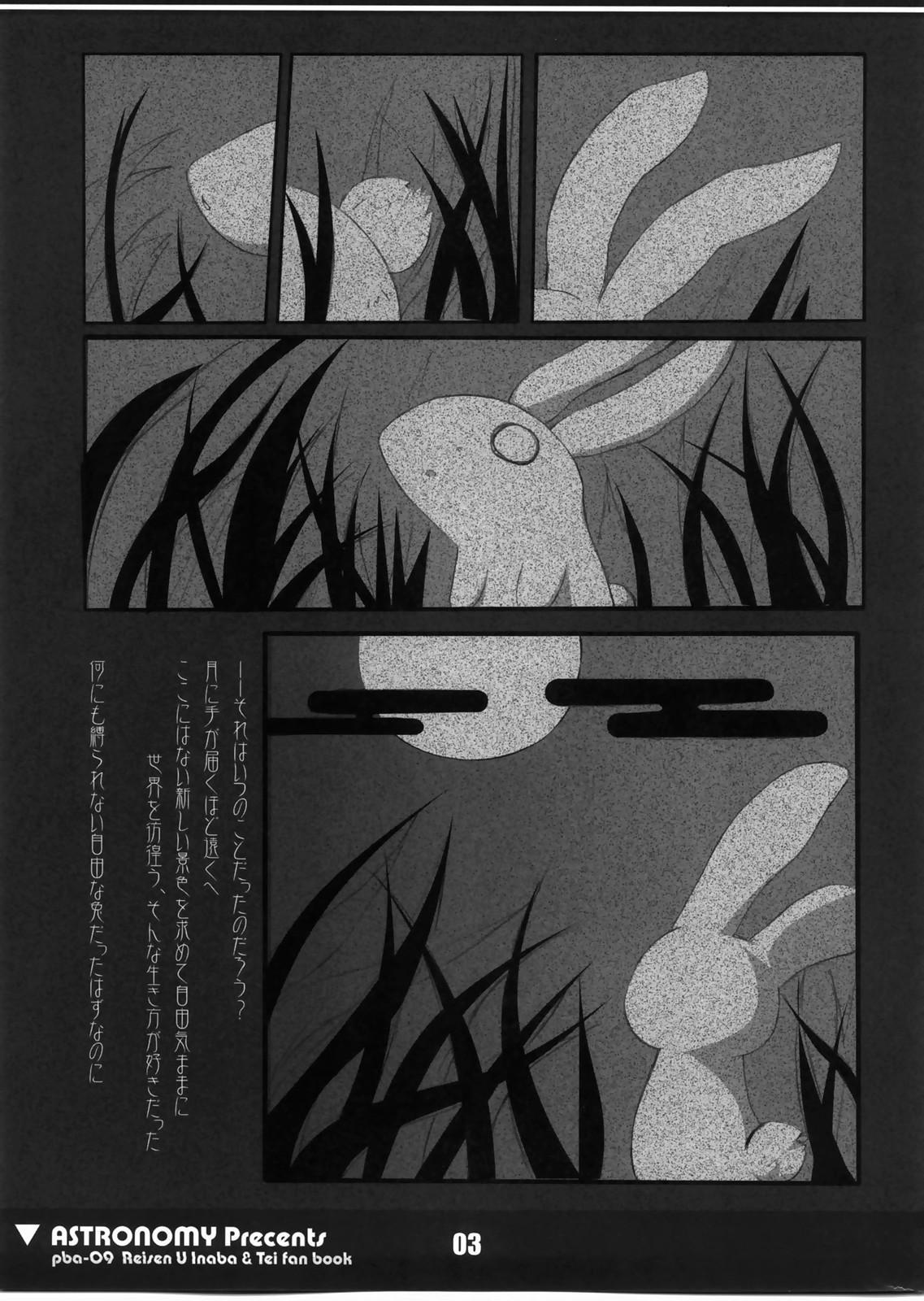 (C73) [ASTRONOMY (SeN)] Koisuru Usagi wa Setsunakute Reisen (Tewi) o Omou to Sugu XXX Shichau no (Touhou Project) 1
