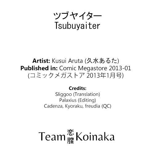 Tsubuyaiter 18
