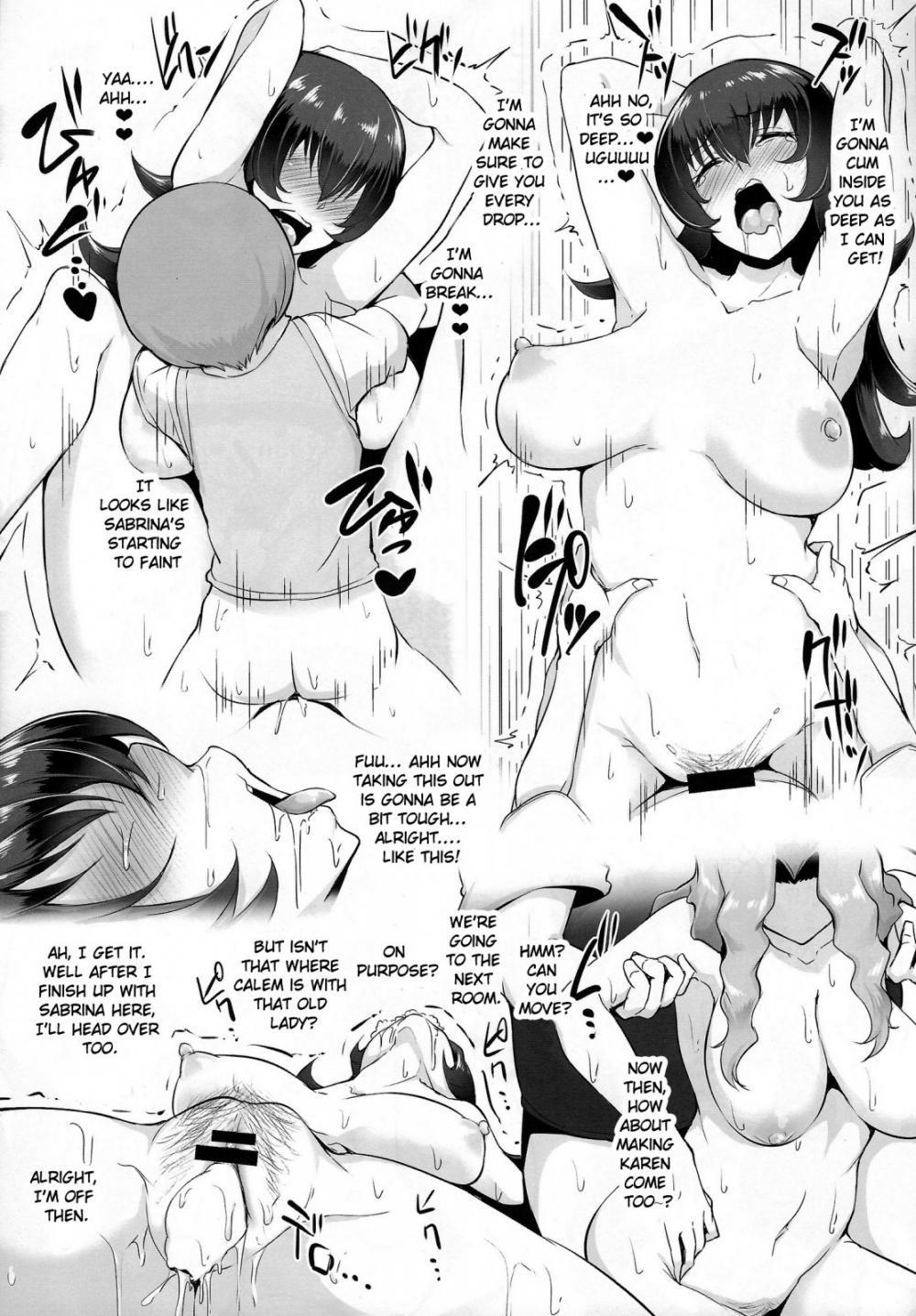 Karin to ShiroNatsume 7