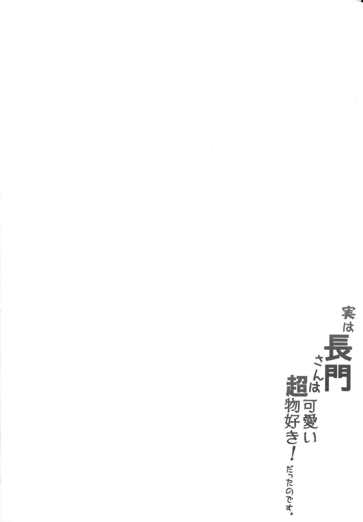 Jitsu wa Nagato-san wa Chou Kawaii Mono Suki! Datta no desu. 2