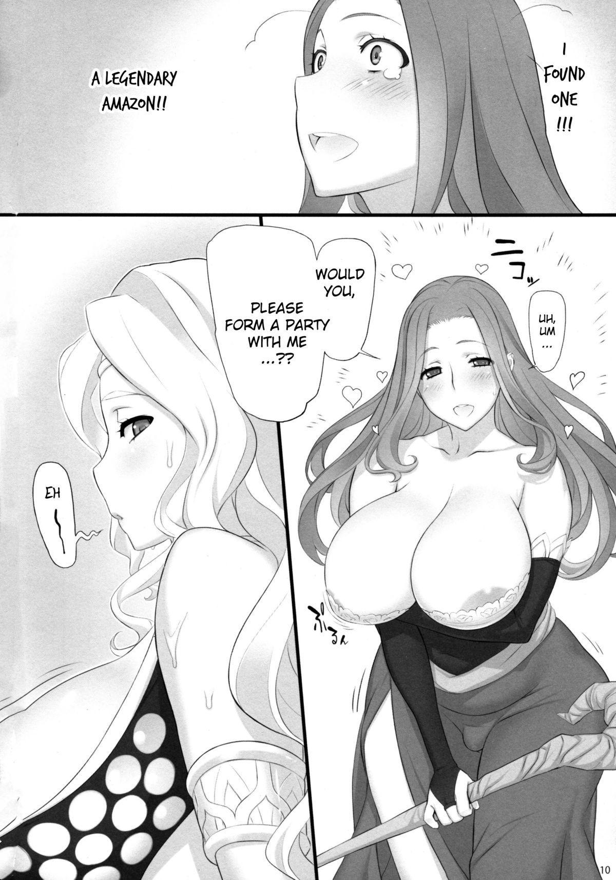 Sorceress no Natsu, Amazon no Natsu. | Summer of Sorceress, Summer of Amazon 9