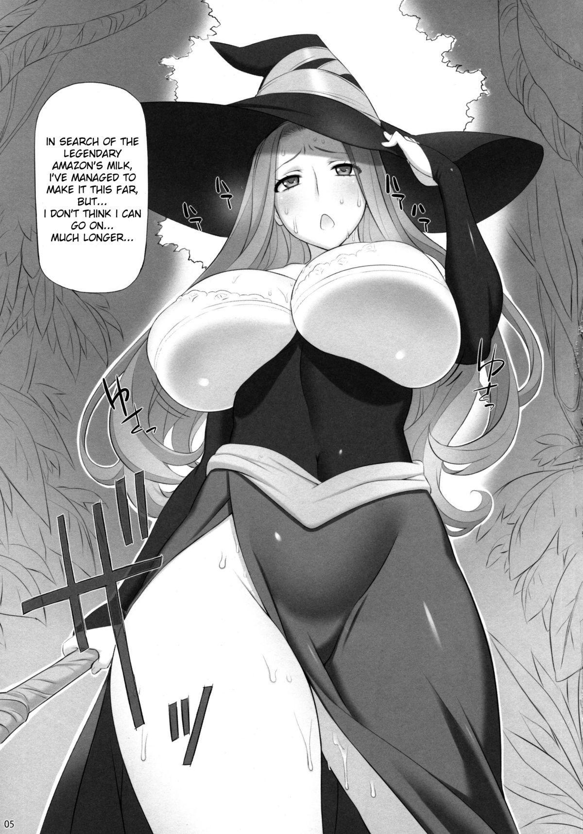 Sorceress no Natsu, Amazon no Natsu. | Summer of Sorceress, Summer of Amazon 4
