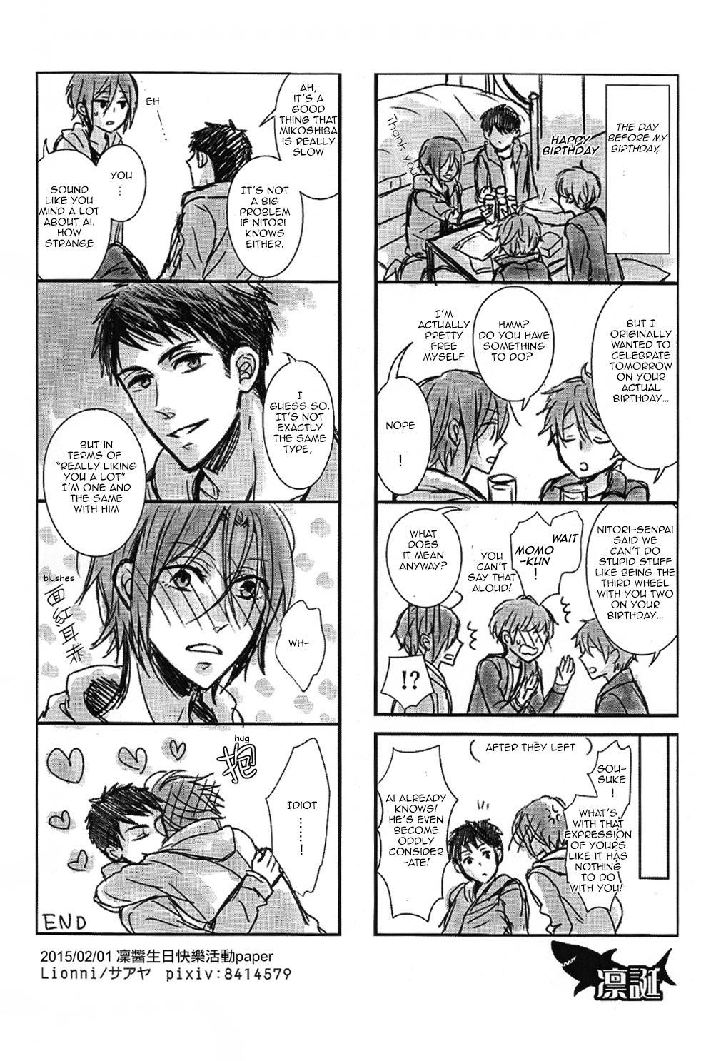 (Renai Jaws 4) [Lionni (Saaya)] 2-gatsu 2-ka no Hajimete | February Second for the First Time (Free!) [English] [Carrot-Bunny] 18