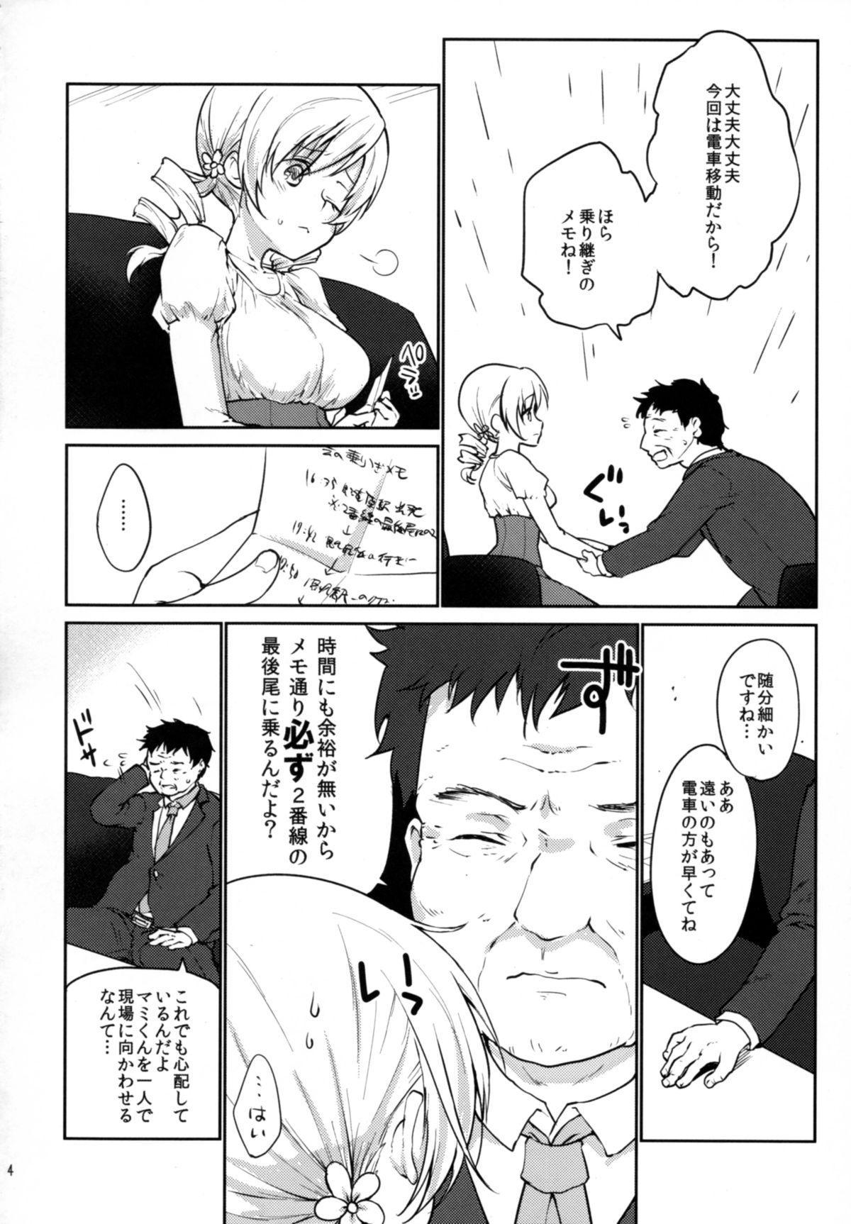 Jitsuroku!? Nakadashi Chikan Densha Tomoe Mami 3