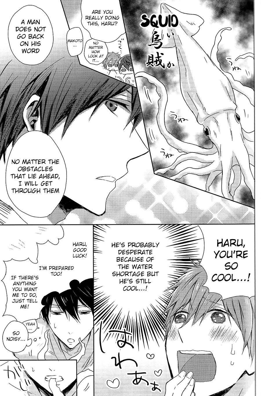 (Renai Endorphin) [Sneeeze (Kubu)] Haru-chan no Maru-Hi Amagoi Daisakusen!! (Free!) [English] [ichigo-day] 11