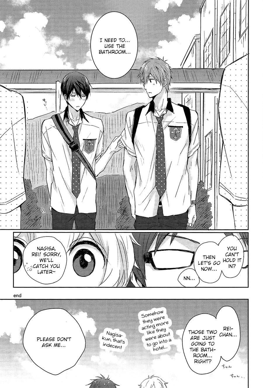 (Renai Endorphin) [Sneeeze (Kubu)] Haru-chan no Maru-Hi Amagoi Daisakusen!! (Free!) [English] [ichigo-day] 27