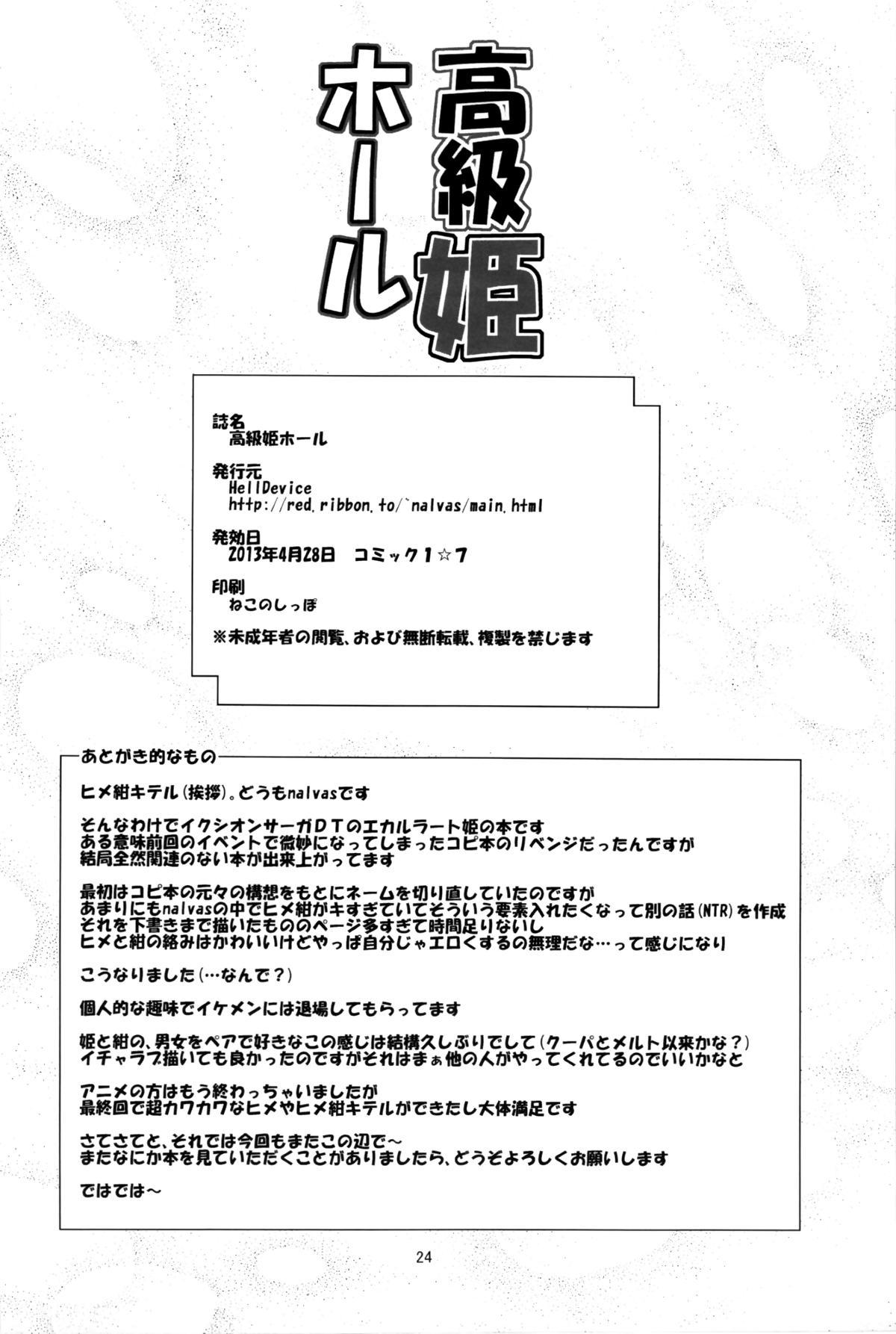 Koukyuu Hime Hole | High-Class Princess Fucktoy 23