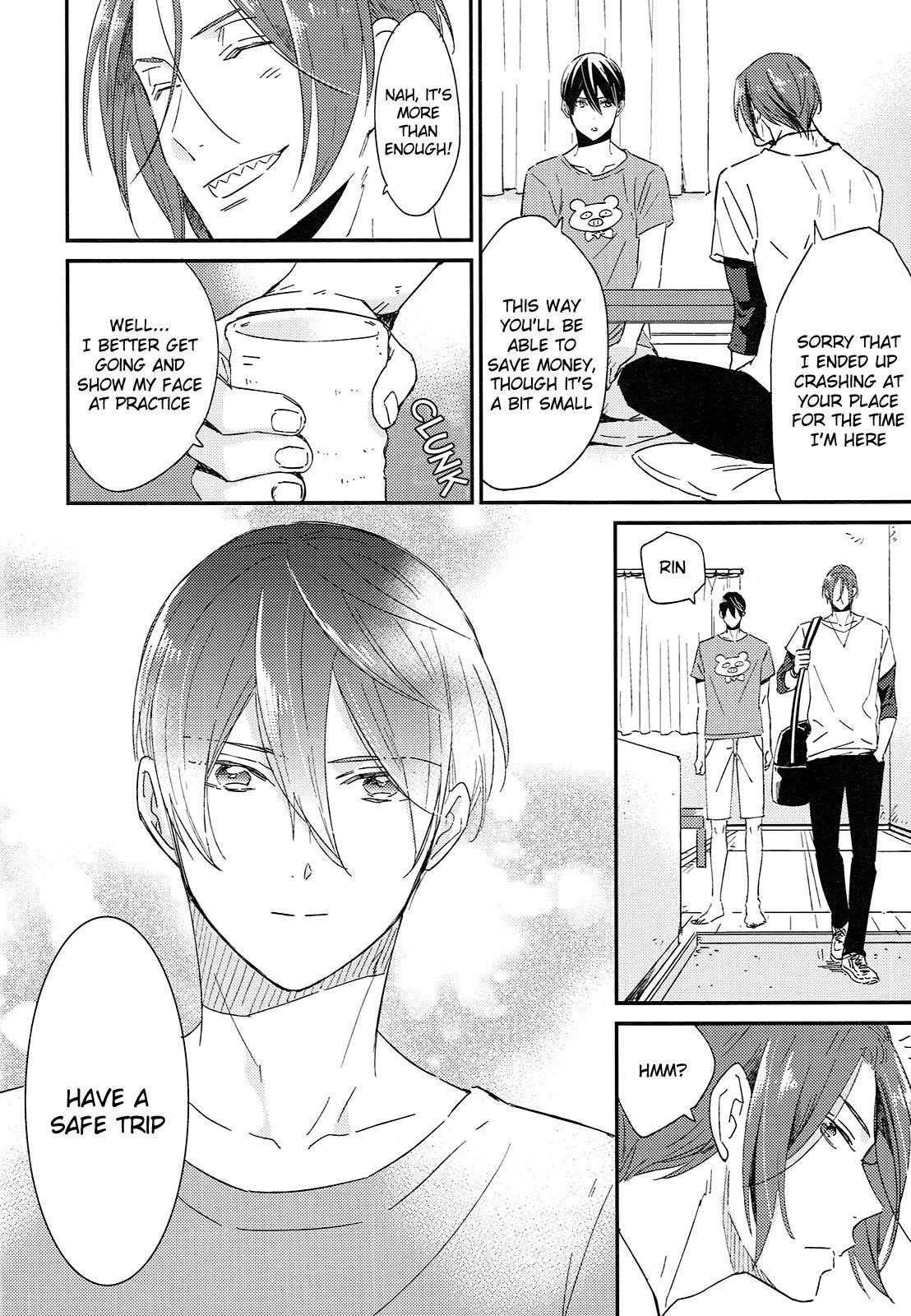 (SUPER24) [KANGAROO KICK (Takagi Takumi)] Matsuoka Rin no Shinkon Seikatsu (Kari)   Matsuoka Rin's Newly-Wed Life (Provisional) (Free!) [English] [Holy Mackerel] 4