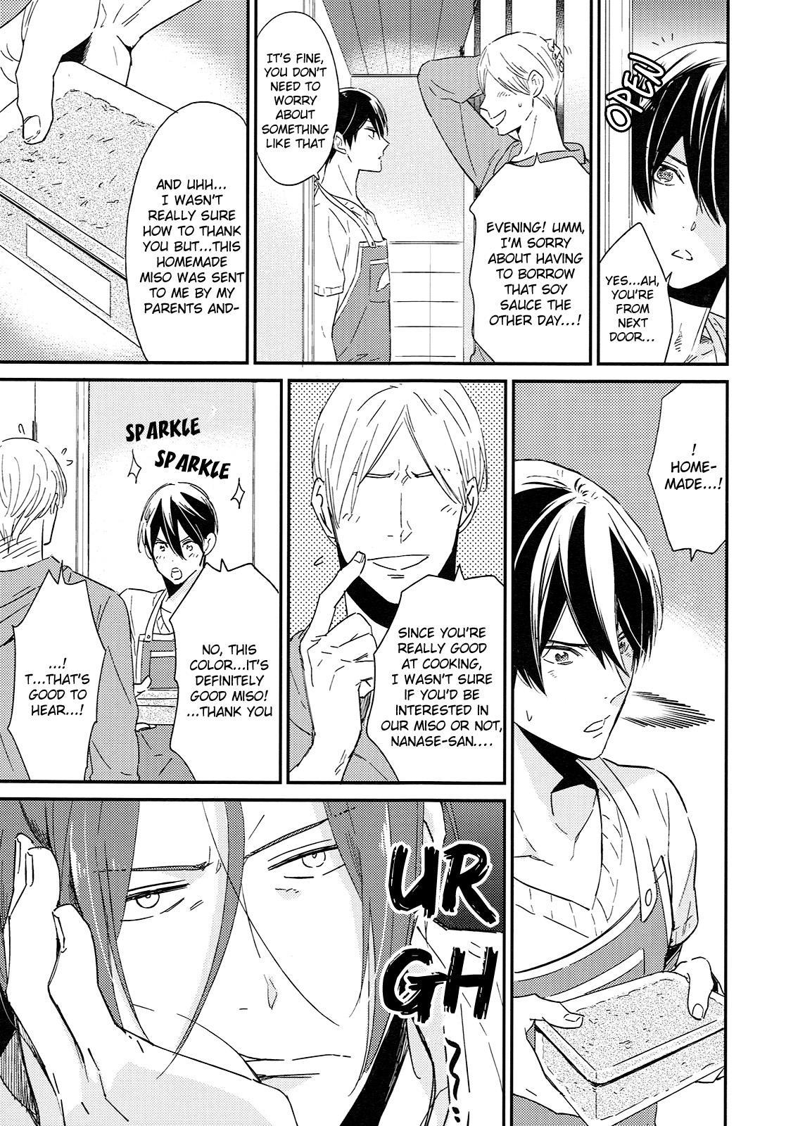 (SUPER24) [KANGAROO KICK (Takagi Takumi)] Matsuoka Rin no Shinkon Seikatsu (Kari)   Matsuoka Rin's Newly-Wed Life (Provisional) (Free!) [English] [Holy Mackerel] 7