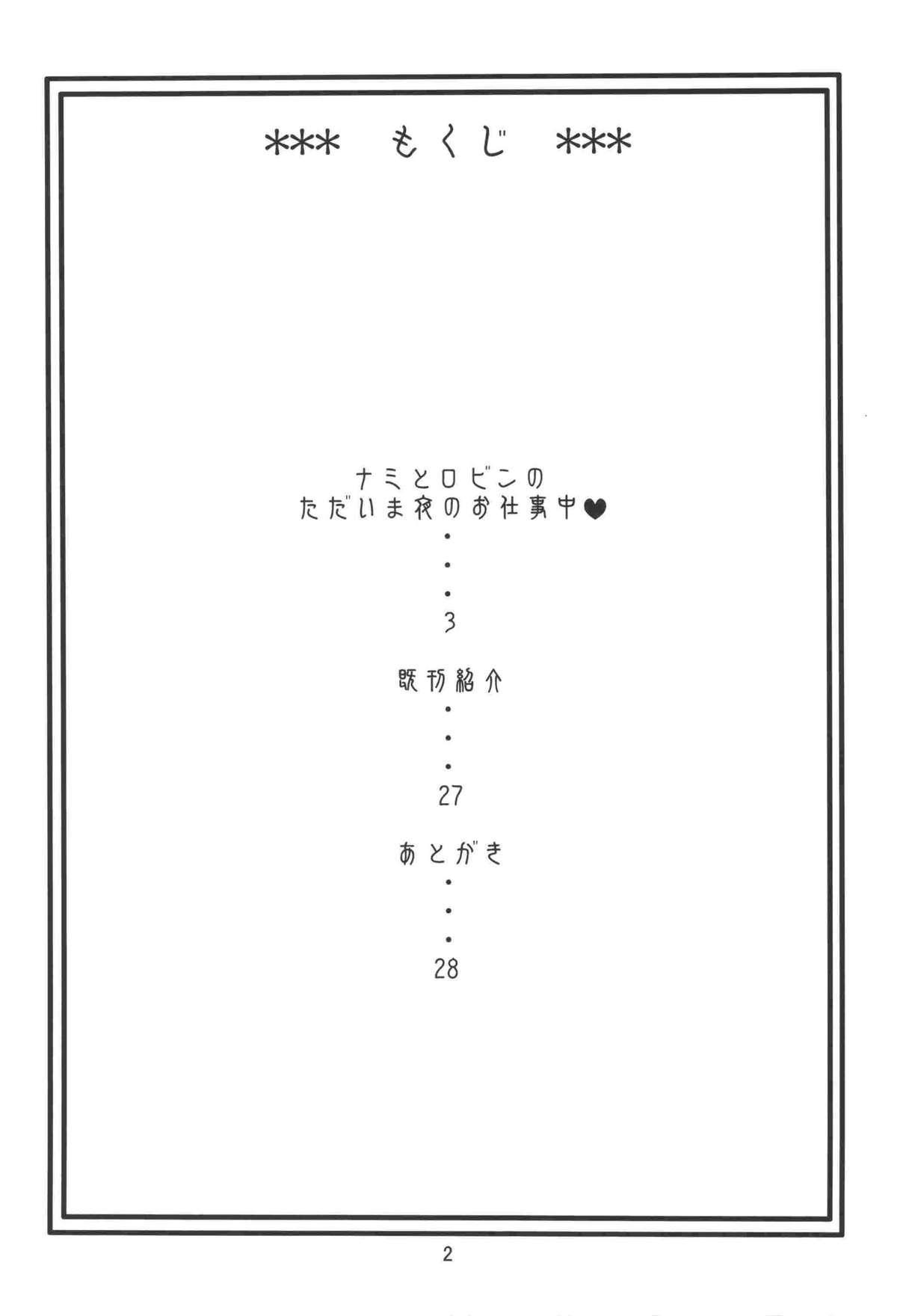 Nami no Koukai Nisshi EX NamiRobi 2 2