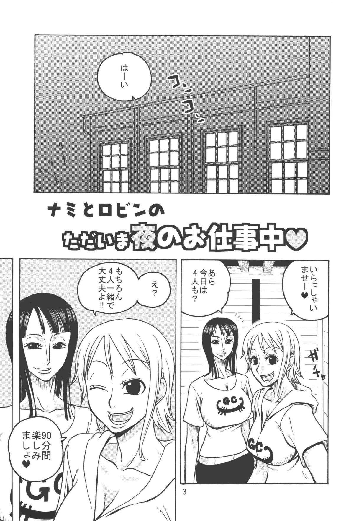 Nami no Koukai Nisshi EX NamiRobi 2 3
