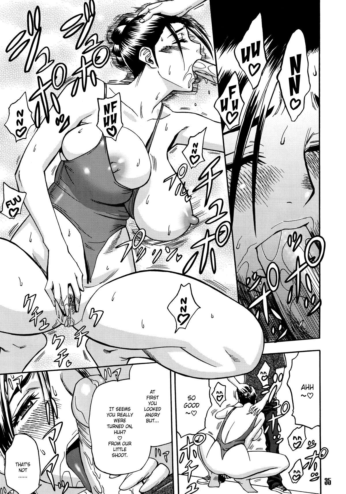 [Madam Project (Tatsunami Youtoku)] Bijin Henshuu-chou no Himitsu (1)   Beautiful Editor-in-Chief's Secret (1) [English] [Forbiddenfetish77] [Decensored] 34