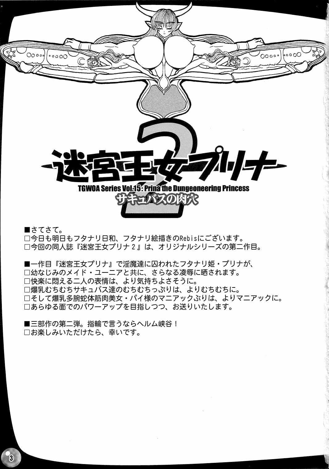The Great Work of Alchemy Vol.15 - Meikyuu Oujo Prina 2 | Prina the Dungeoneering Princess 2 2