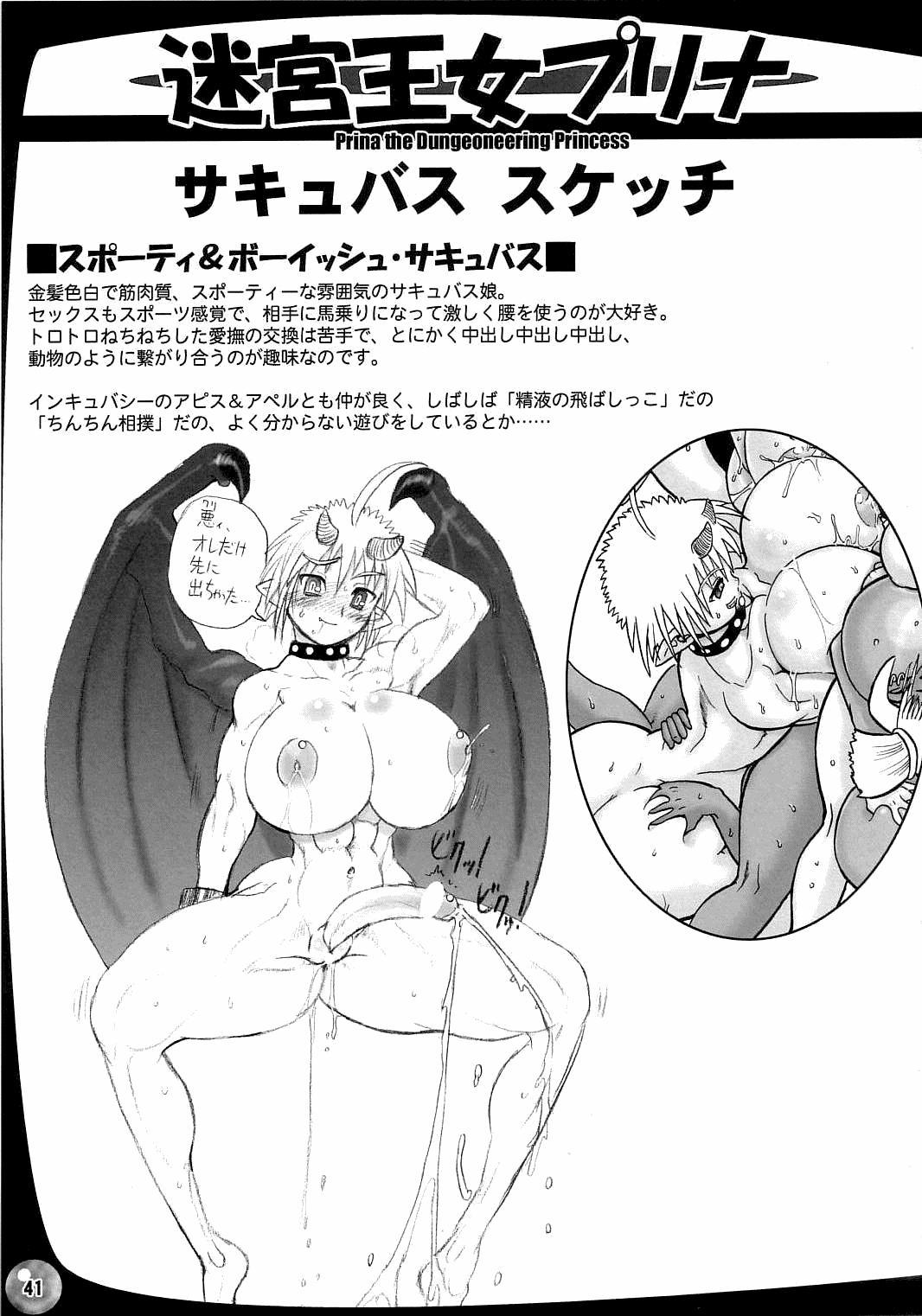 The Great Work of Alchemy Vol.15 - Meikyuu Oujo Prina 2 | Prina the Dungeoneering Princess 2 40