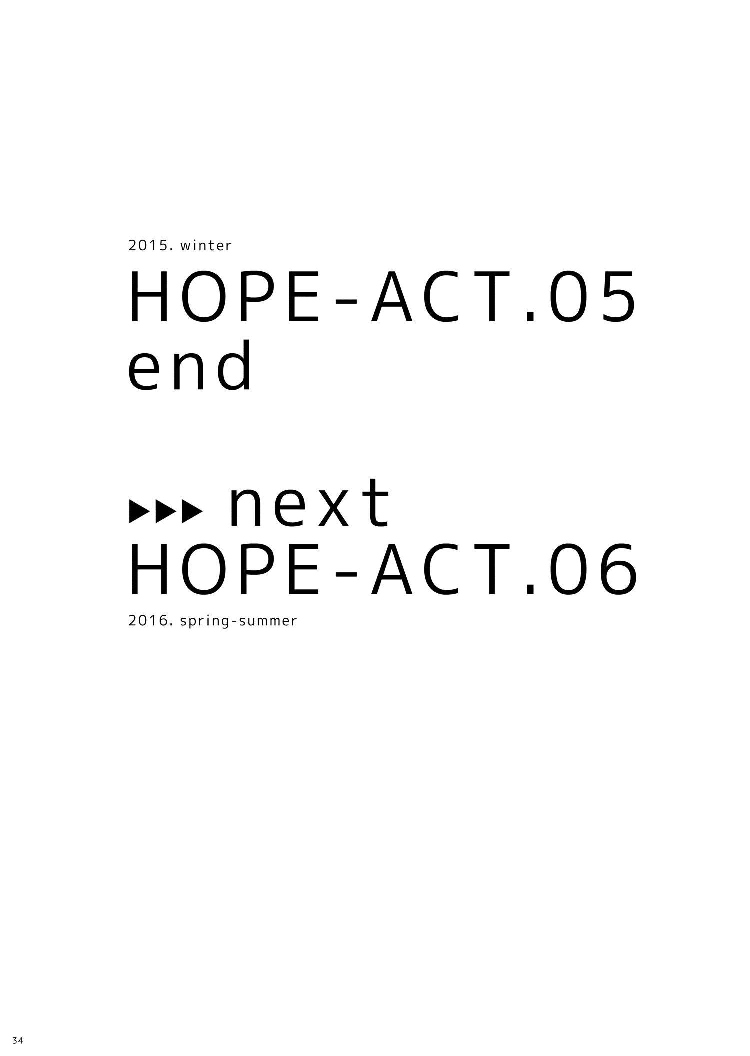 HOPE-ACT. 05 32