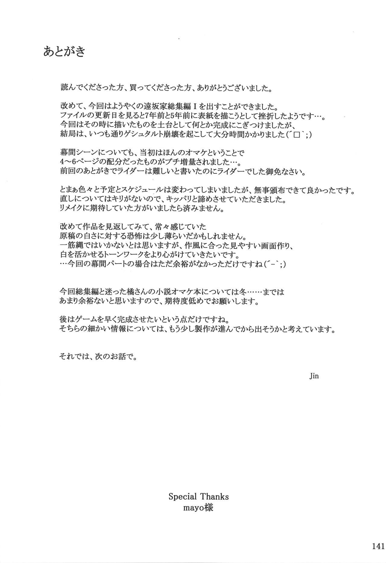 Tosaka-ke no Kakei Jijou Soushuuhen 1 138