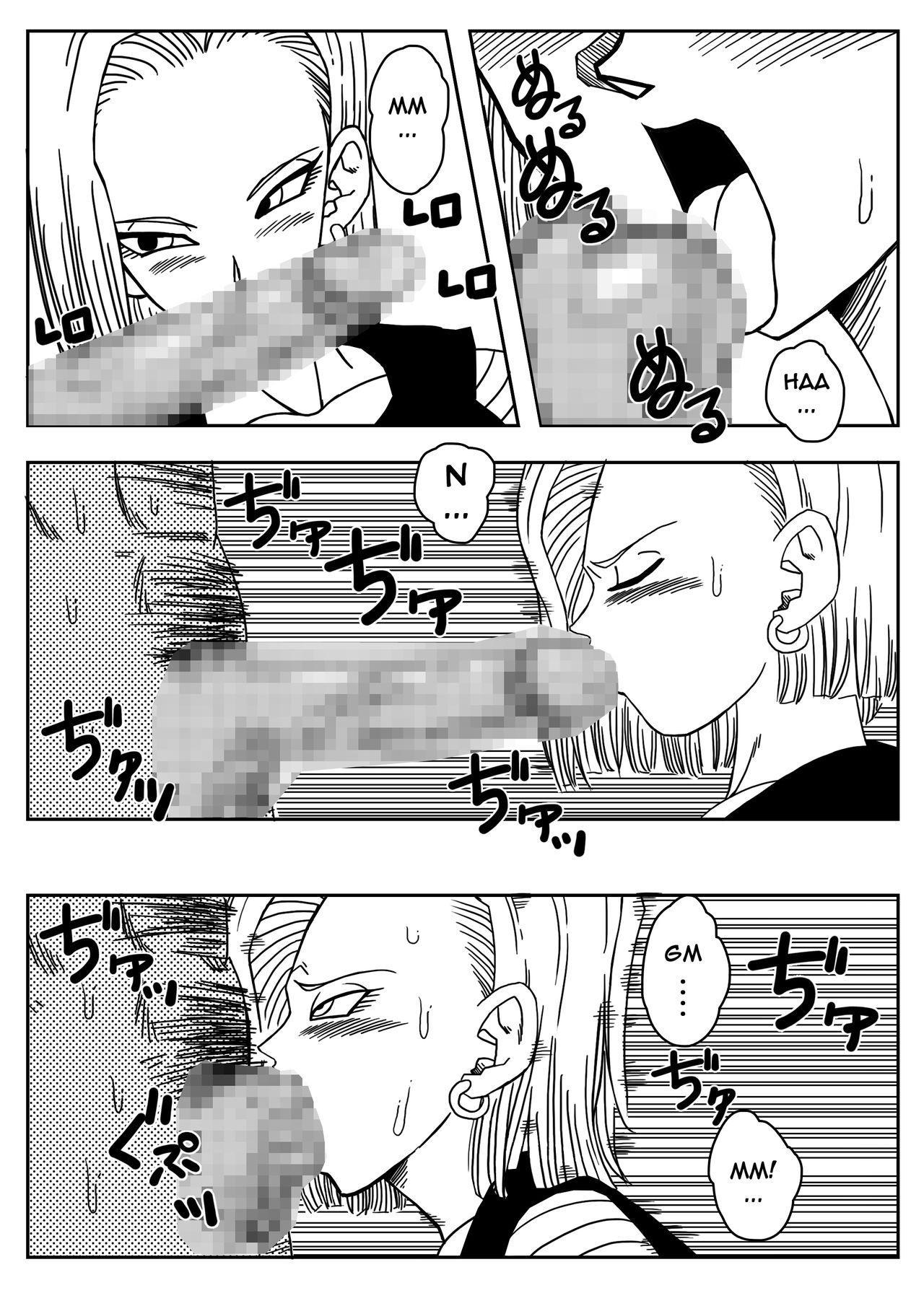 18-gou to Mister Satan!! Seiteki Sentou! | Android N18 and Mr. Satan!! Sexual Intercourse Between Fighters! 5