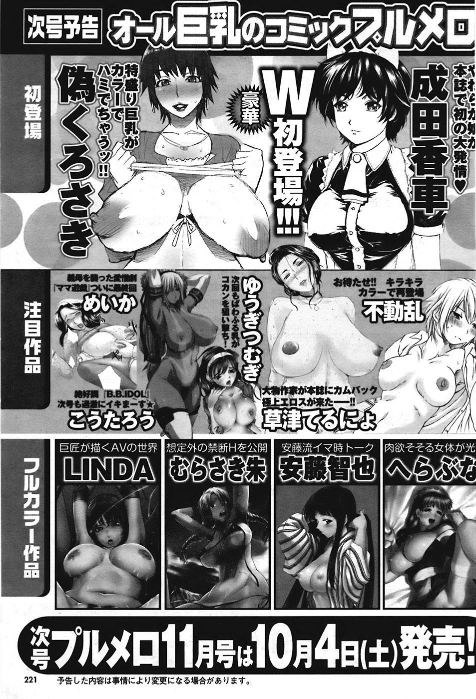 Comic Purumelo 2008-10 Vol.22 220