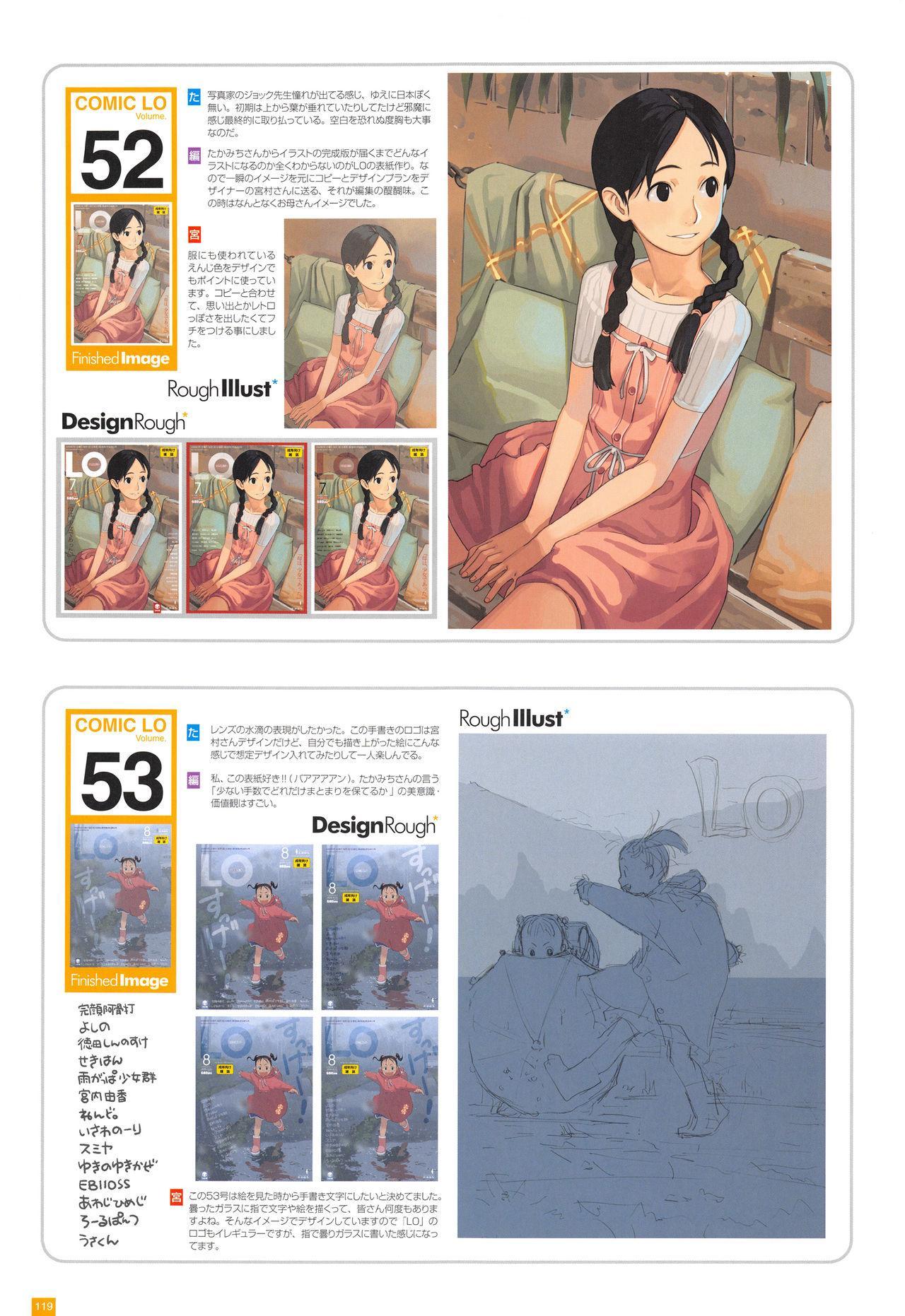 LO Artbook 2-A TAKAMICHI LOOP WORKS 121