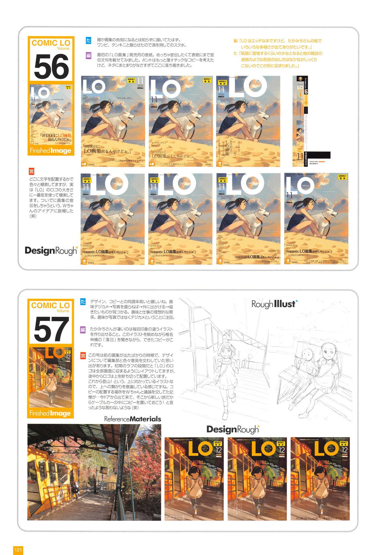 LO Artbook 2-A TAKAMICHI LOOP WORKS 123