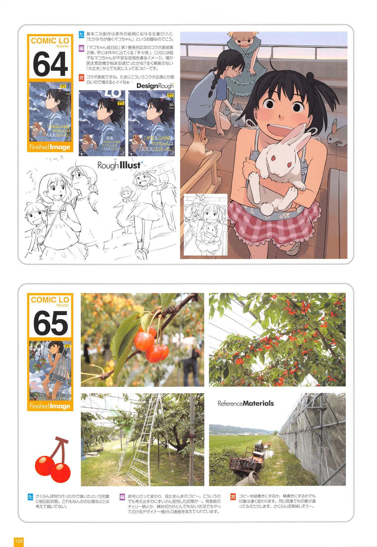 LO Artbook 2-A TAKAMICHI LOOP WORKS 127