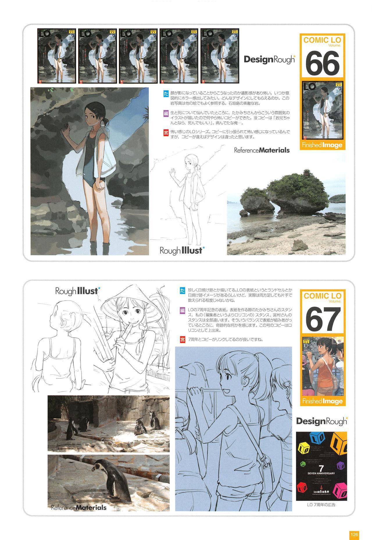 LO Artbook 2-A TAKAMICHI LOOP WORKS 128